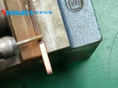 NAKANISHI气动主轴铜线磨漆案例