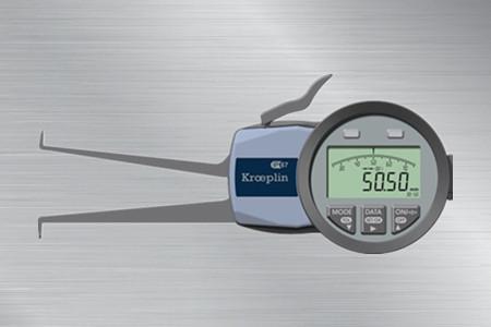 德国数显内径卡规G230,测量范围30-50mm,最小读数:0.01mm,喉深长度85mm,高度IP保护等级,拥有市场上坚韧度最高的测脚,易携带,寿命长;多个数显设定功能: 绝对和相对测量, 上下限超差显示等。