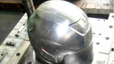 头盔模具的高光加工NAKANISHI高速主轴起到什么作用?