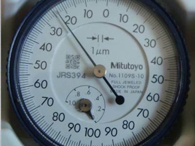 日本三丰Mitutoyo指针式千分表1109S-10