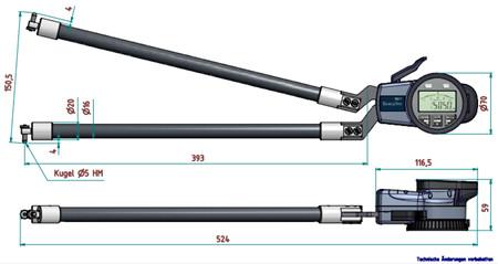 德国kroeplin进口卡规G850尺寸图