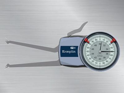 德国kroeplin指针式内径卡规H2G30