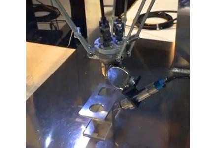 NAKANISHI高频铣小机器人去毛刺案例
