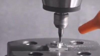 CNC加工中心增速器NAKANISHI高速电主轴HES钻孔高光加工