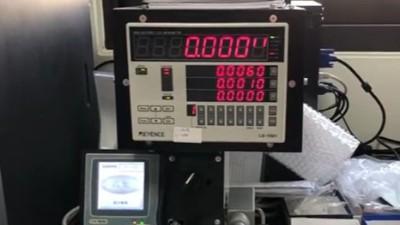 伺服、步进电机搭配NAKANISHI高速主轴进行磨针应用
