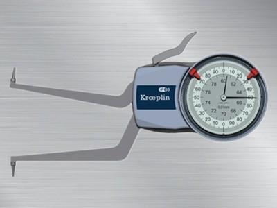 德国kroeplin指针式内卡规H260
