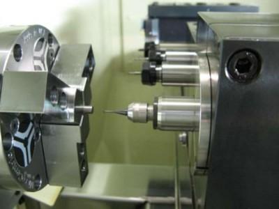NAKANISHI高速电主轴BMJ-320应用于M2螺丝螺纹铣削加工
