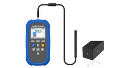 TM5340B手持式三轴特斯拉计采集频率可以输出波形吗?