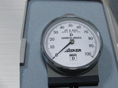 日本ASKER橡胶硬度计D型