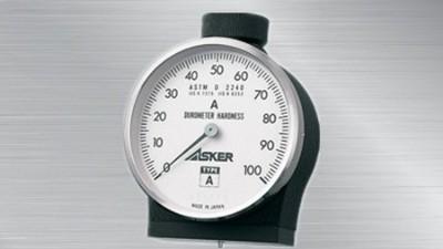 日本ASKER橡胶硬度计如何测量O型密封圈的硬度?