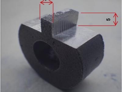 NAKANISHI高速电主轴BMS-4020铸件多角度切削加工实例