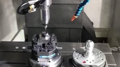 加工中心增速刀头,NAKANISHI高速电主轴HES用于精铣加工