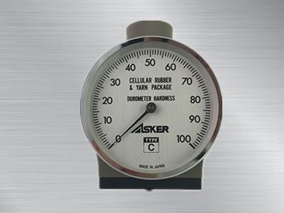 日本ASKER橡胶硬度计C型