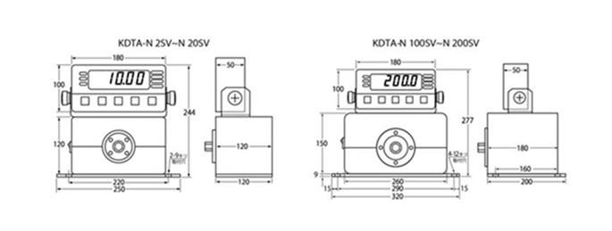 日本中村数显扭力检测仪KDTA-SV.