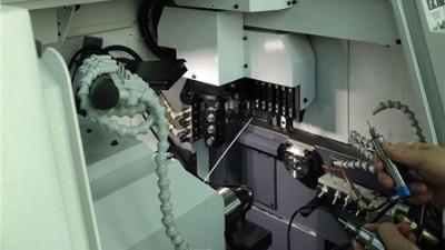 西铁城走心机L12适合加装NAKANISHI高频铣BM-319及BM-319F