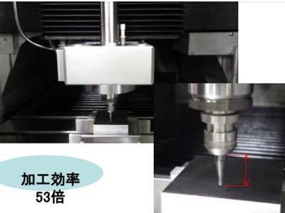 NAKANISHI自动换刀主轴搭配R1球头铣刀用于铝合金侧切及上切加工