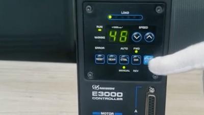 NAKANISHI主轴的电压和电流是指哪些部件的参数?
