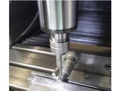 SCM435钢钻孔加工,NAKANISHI高速电主轴BMS-4020大扭矩钻孔案例