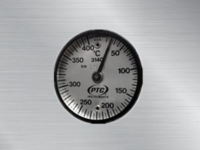 美国PTC磁性表面温度计314C