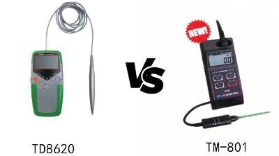 手持式高斯计TM-801和TD8620,选哪一款更合适?