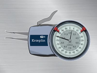 德国kroeplin指针式内卡规H102