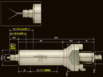 使用高精度中心出水主轴的有什么好处?