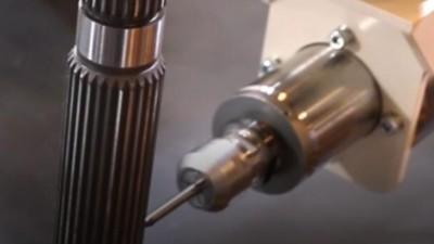 日本中西自动换刀主轴应用于螺纹去毛刺