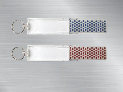 美国迷你磨刀石F70C粗糙表面版蓝色