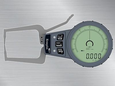 德国KROEPLIN无线蓝牙传输数显外卡规C015