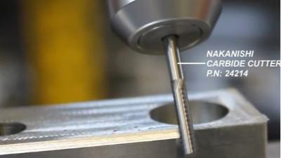 铝合金工件倒角,NAKANISHI主轴多款型号适用