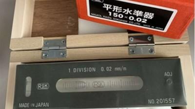 日本RSK水平仪如何校准及校准时注意事项