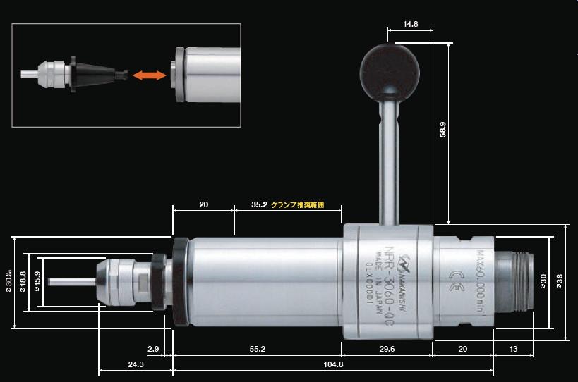 NRR3060-QC尺寸图