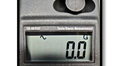 手持式高斯计TM-801可测量交直流磁场强度