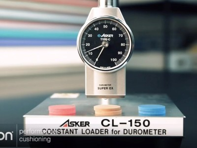 ASKER C型橡胶硬度计搭配CL-150定压测试台