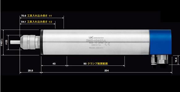NAKANISHI大功率电主轴BMS-4040RA