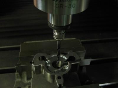 日本NSK高速电主轴应用于烧结材料钻孔加工