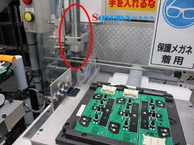 NAKANISHI分板机主轴在PCB分板上切削案例
