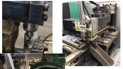 NAKANISHI电动主轴在船舶业接线端子排的铣削的应用
