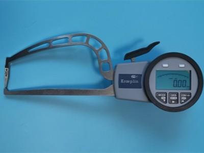 德国Kroeplin壁厚卡规用于管件测量具有蓝牙传输功能
