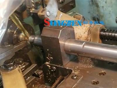 凸轮机安装NAKANISHI高速电主轴加工小工件钻孔案例