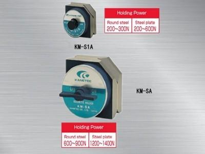 日本强力六角形磁性座KM-SA