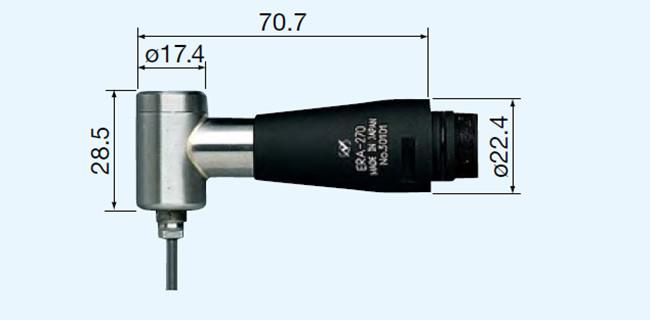 NSK直角力矩研磨头ERA-270尺寸图