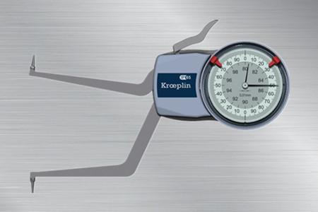 德国kroeplin内径测量卡规H280