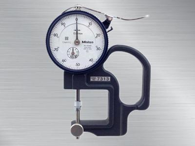 日本三丰mitutoyo指针式厚度计7313