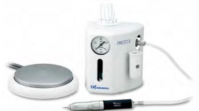 口腔正畸矫治器需要日本NAKANISHI气动打磨机进行打磨抛光
