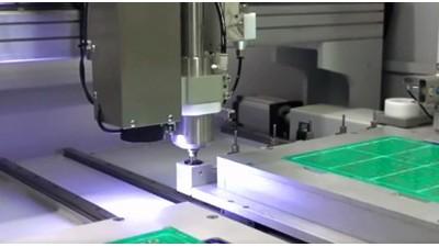 日本NAKANISHI分板机主轴自动化分板切割小能手