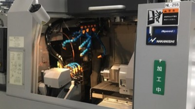 走心机加装NAKANISHI高频铣动力头使加工精度稳定