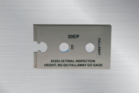 美国环球强力星型螺帽外形检查规2293-05