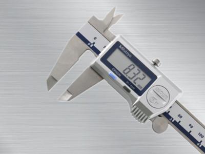 三丰防冷却液数显卡尺500-754-10