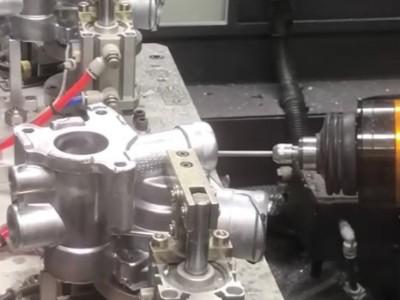 机器人浮动搭配NAKANISHI气电主轴应用于铝合金去毛刺